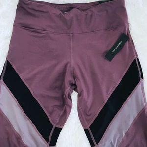BCBG Leggings (Purple) Large NWT
